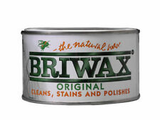 BRIWAX Wpam400 Wax Polish Antique Mahogany 400g