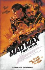 POSTER MAD MAX FURY ROAD CHARLIZE THERON TOM HARDY FURIOSA INTERCEPTOR FOTO #24