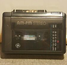 GE General Electric Am FM Stereo Radio Cassette Player 3-5473B Vintage Playback
