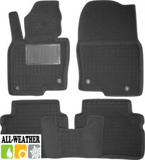 All Weather Floor Liner Velour Carmats Rubber Backing Fit Mazda CX-5 II 2017-