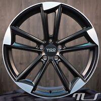 Yido Wheels YA1 9 x 20 Zoll ET 37 5x112 66,6 Matt Schwarz poliert Alufelge Felge