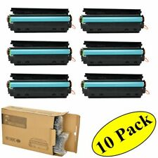 10PK CE285A Black 85A Toner Cartridge - HP LaserJet P1102W M1217nfw M1212nf MFP