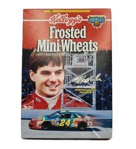 Jeff Gordon Kellogg's Frosted Mini-Wheats Cereal Box Commemorative Box 1995