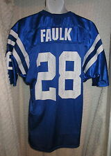 Vintage Marshall Faulk Indianapolis Colts Jersey adult Large by Wilson
