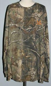 New REALTREE AP Long Sleeve Camo Shirt Mens Size M or 2XL Hunting Top T-Shirt