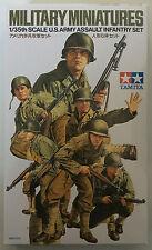 Tamiya 35192 US Armee Assault Infanterie Set 1/35 Modell Bausatz NIB