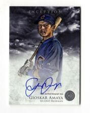 GIOSKAR AMAYA MLB 2013 BOWMAN INCEPTION PROSPECT AUTOGRAPHS (CHICAGO CUBS)