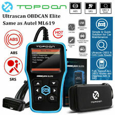 ABS Airbag SRS Reset OBD2 Code Reader Diagnostic Scanner as Foxwell NT630 Elite