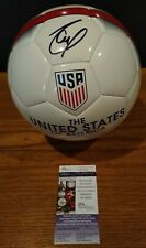 CHRISTIAN PULISIC SIGNED Team USA SOCCER BALL JSA autograph FC CHELSEA 3