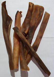 Rinderkopfhaut 12-15 cm SONDERPOSTEN Pansen Leckerlie Ohren Hufe Knochen