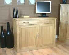 Oak Desk Home Office Furniture with Drawers