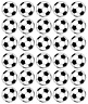 Footballs x 30 Cupcake Toppers Edible Wafer Paper Fairy Cake Toppers
