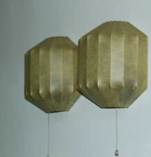 Mid Century Original George Nelson Cocoon Wall Sconces