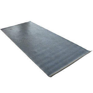 Rubber Truck Bed Mat 4' x 8' Heavy Duty Liner Thick Utility Heavyweight