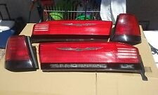 1992-97 FORD THUNDERBIRD SUPER COUPE/LX COMPLETE REAR Trunk LED Taillights OEM