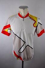 Santini vintage Radtrikot cycling jersey maglia Rad Trikot Gr. L  J021