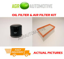 DIESEL SERVICE KIT OIL AIR FILTER FOR RENAULT KANGOO 1.5 109 BHP 2007-
