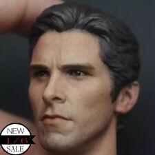 """1/6 Scale Bruce Wayne Batman Head Sculpt for 12"""" Action Figure"""