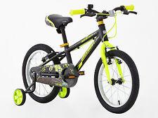 Greenway garçons 16 pouce Alliage Bike avec support roue, haute spec,3-6 Ans