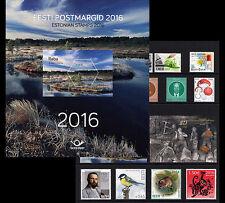 Estland / Estonia - Postfris/MNH - Complete Yearset 2016