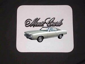 NEW Chevy Monte Carlo Mousepad (7 to choose from)
