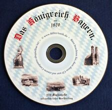 Königreich Bayern 252 Stahlstiche aus dem Jahre 1870 König Ludwig Sisi CD