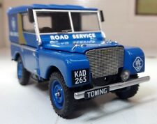 Corgi Vanguards 11105 Land Rover Lincoln Dept. 1/43