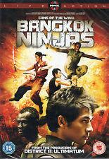 SONS OF THE WIND; BANGKOK NINJAS.
