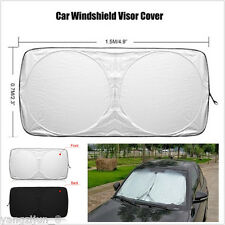 1Pcs Brand New Car Truck Front Windshield Sun Shade Visor Cover 150cm*70cm Trim