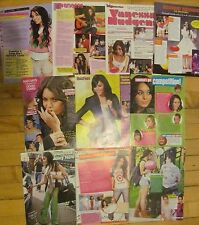 Vanessa Hudgens, Lot of TEN Full Page Pinup Clippings