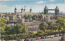 BF29291 the tower of london and towre bridge   UK  front/back image