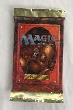 1 4th Edition Fourth Sealed Booster Pack Mtg Magic English Fresh from Box