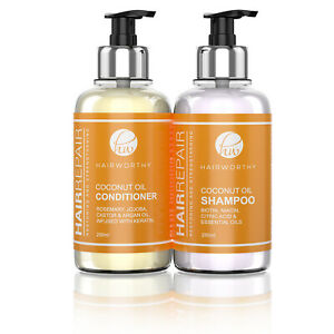 Hairworthy Hairrepair Shampoo & Conditioner Combo set