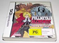 Full Metal Alchemist Dual Sympathy Nintendo DS 2DS 3DS Game *Complete*