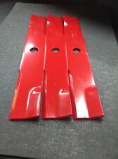 "EXMARK LOW LIFT BLADES FOR 52"" CUT. REPLACES OEM 103-6387. SET OF 3"