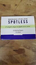 Rodan + Fields Spotless Oil Blotting Papers . Only $5.99 Qty 20!