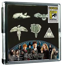Harry Potter 5-Piece Pewter Collector's Lapel Pin Set SDCC 2017