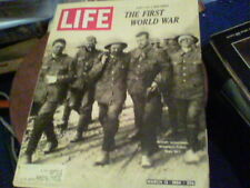 Life March 13, 1964, the First World War, Burton, O'Toole film about Becket