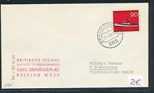 86681) SHIP POST Germany Great Britain GB/UK Bremerhaven 1966