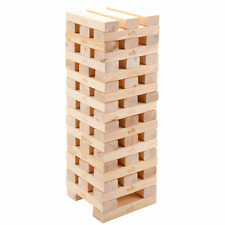 Nouveau mega en bois tumbling tower blocs jardin jeu de plein air family fun party