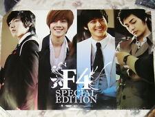 (SS501) Kim Hyun Joong Lee Min Ho F4 Special Edition Taiwan Promo Poster (Ver.B)