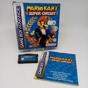 Mario Kart Super Circuit - Boxed - Nintendo Game Boy Advance - GBA