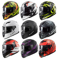 LS2 FF320 STREAM EVO LUX THRONE LAVA HYPE FULL FACE MOTORCYCLE SCOOTER HELMET