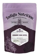 Organic Chia Seeds - 250g - Indigo Herbs