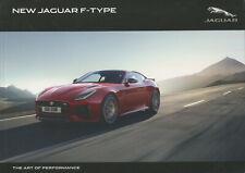 CAR BROCHURE - JAGUAR F-TYPE - APRIL 2017