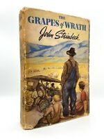 The Grapes of Wrath  – First Edition – First Printing – John STEINBECK 1939
