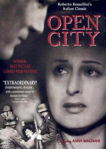 Open City DVD - B & W - 1945 Rare OOP Italian Movie Roberto Rossellini