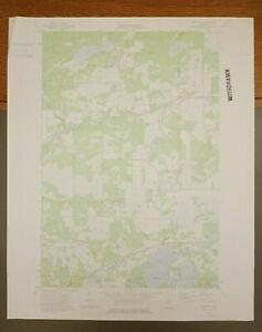 "Iron Hub, Minnesota Original Vintage 1973 USGS Topo Map 27"" x 22"""