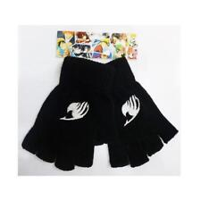 Japan Anime Fairy Tail Cosplay Knitted Fingerless Gloves LS8562
