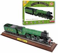 FLYING SCOTSMAN 3D PUZZLE 165 pcs Model Kit Construction Train Locomotive Gift